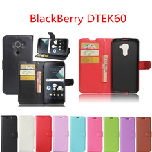Hot Selling For BlackBerry DTEK60 Case 5.5inch Wallet Style PU Leather Mobile Phone Back Cover For BlackBerry DTEK60 Phone Case