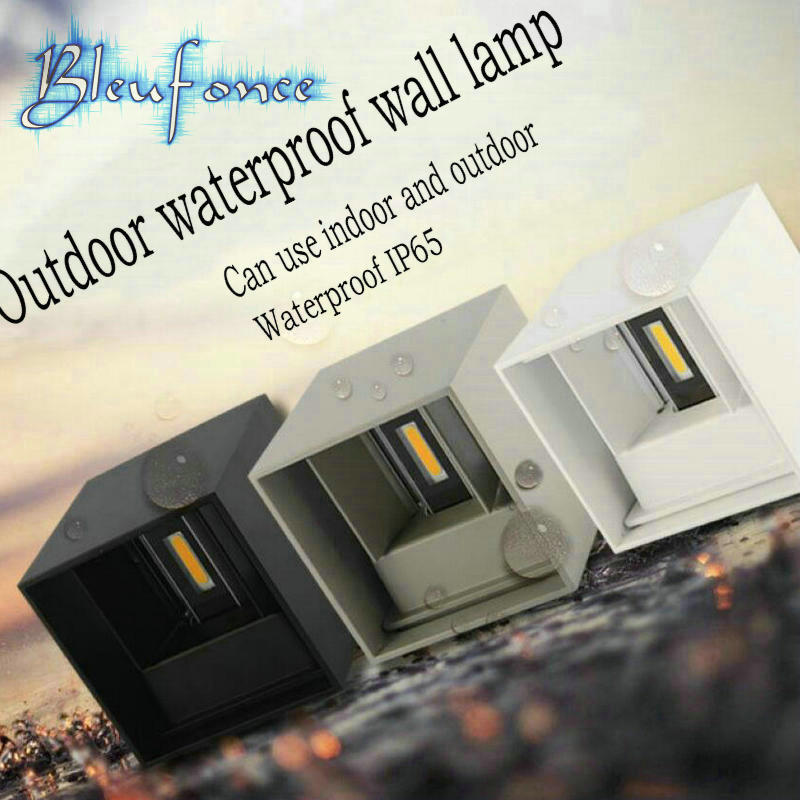 Modern Brief Cube Adjustable Surface Mounted 7W LED Wall Lamp Outdoor Waterproof IP65 Aluminum Wall Lights Garden Light Sconce<br><br>Aliexpress