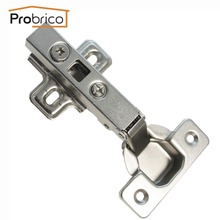 Probrico Full Overlay 4 Pair Kitchen Cabinet Hinge CHH093GA Concealed Furniture Cupboard Door Hinge(China)
