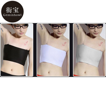 Geminbowl sport yoga clothing Flat Slim Vest  Tomboy  Les corset Chest Breast Binder