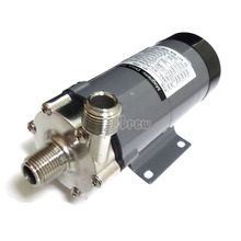 Hot! Magnetic Drive Pump 15R With Stainless Steel Head,homebrew Pump with CE Certification