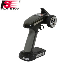 Fly Sky FS-GT2E AFHDS 2A 2.4g 2CH Radio System Transmitter for RC Car RC Boat with FS-A3 Receiver(China)