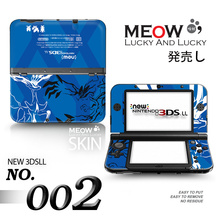 Blue Red XY Game front&back Decal Skin Sticker for Nintendo 3DSLL Sticker for NEW 3DS XL LL for 3DSLL XL