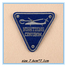 DOUBLEHEE128 The Air Force Helicopter Patches Embroidered Iron On Patch For Clothing Sticker Paste For Clothes Bag Pants Sewing
