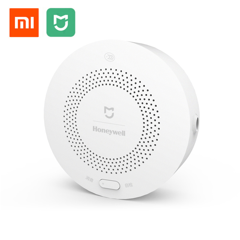 Original Xiaomi Mijia Honeywell Smart Gas Alarm Detector CH4 Monitoring Ceiling &amp; Wall Mounted Easy Install Type Mi Home APP<br>