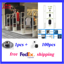 The whole set eas system,eas antenna retail clothing store shoplifting prevention system ,DSP board alarm system