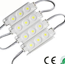 DC12V IP65 0.72W 3 5050 smd plastic injection led pixel module white/warm white led channel letter signs