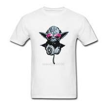 New Brand Cotton men Clothing Male t shirt Darth Yoda mens tops tees 2017 juventus socc-er jersey(China)