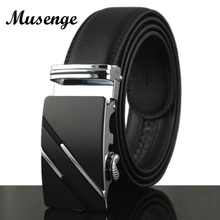 Buy Musenge Automatic Metal Buckle Leather Belt mens belts ceinture leather designer men ceinture homme cinturones hombre cinto riem for $9.30 in AliExpress store