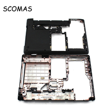 "SCOMAS Stock Laptop Bottom Case Bottom Cover for Lenovo Thinkpad E435 E430 E430C E431 E445 Series 14.0"" D Cover D Case Shell"