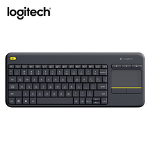 Logitech K400 Plus Wireless Keyboard with Touchpad Keyboard for TV Connected Computer(China)