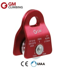 20KN/4500lbs Small General Purpose Mobile Prusik Pulley for Rescue / GM Climbing ROPE 1/2 inch CE/UIAA