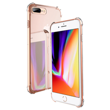 Buy Luxury Brand TPU Silicone ultra slim Cover iPhone 6 6s 7 Plus 6Plus 7Plus iPhone 8 Plus 8Plus Phone X Case coque clear for $1.29 in AliExpress store