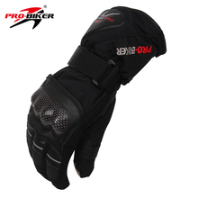 PRO-BIKER Outdoor Sport Waterproof Gloves Winter Thermal Warm Motorcycle Motocross Cycling Skiing Snowboarding Gloves Guantes(China)
