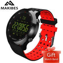 Smart Sports Watch Makibes EX18C Bluetooth 4.0 Sports Watch 5 ATM water resistant Call notification Remote control Alarm Clock