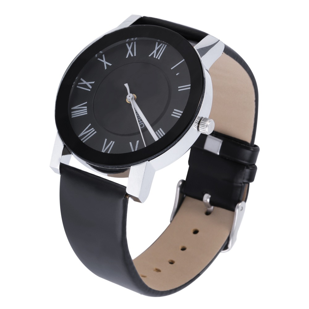 BARIHO Men Women Roman Numeral Dial PU Leather Band Quartz Wrist Watch PU Leather band, very soft Top Quality hot!<br><br>Aliexpress