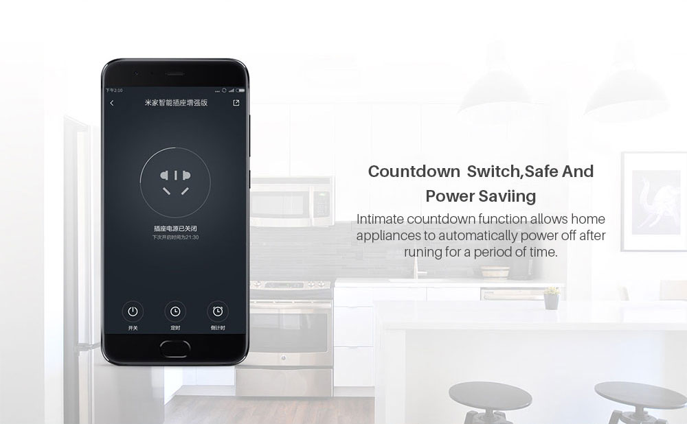 Xiaomi Mijia Smart wifi Socket Plug Enhanced Dual USB Fast Charger Timer Setting Electricity statistics Wireless APP Control (5)