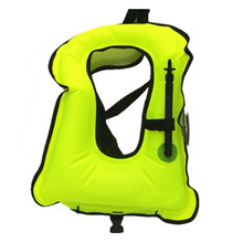 Free shipping Inflatable life jacket Super light Buoyancy vest Float ring swim Snorkeling dive suit Equipment swim Adult Kids
