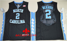 Free Shipping  Nike 2017 North Carolina Tar Heels Joel Berry II 2 College Ice Hockey Jersey -  Black Size S,M,L,XL,2XL,3XL