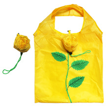 Fashion Rose Flowers Flora Print Reusable Folding Shopping Bag Tote Eco Storage Bags SH36