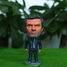 "Soccer Coach MOURINHO (MU) 2.5"" Action Dolls Figurine"