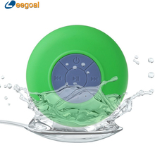 Waterproof Wireless Bluetooth Mini Speaker with Suction Cup for Bathroom portable speaker Rechargeable Battery Suction bluetooth