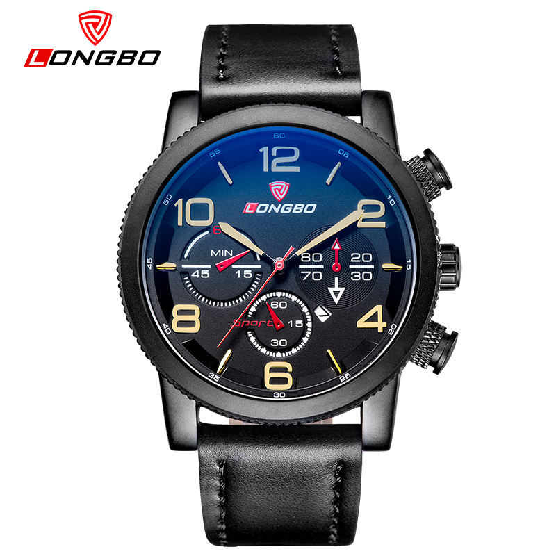 Top Men Watches Luxury Brand Mens Quartz Hour Analog Digital Date Sports Watch Army Military Leather Watches Relogio Masculino<br><br>Aliexpress