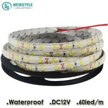 Super Bright LED Strip Light 5630 5M 300LED Waterproof DC12V Flexible LED Strip,60LED/m, Warm white, White Free Shipping(China)