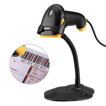 Excelvan BP-9210AT Portable USB Handheld Automatic Barcode Scanner Bar code Reader lector codigo barras With Stand Holder