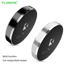 FLOVEME Magnetic Mobile Phone Holder Car Dashboard Wall Holders Keys Kitchen Sticker Stand For iPhone Magnet Mount Holder Bracke(China)
