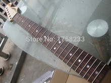 Free Shipping best guitar custom shop 21  fret diy electric guitar kit rosewood telecaster neck stratocaster deluxe