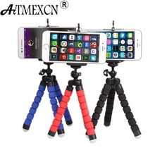 Mini Tripod Octopus Flexible Stand for Gro Pro Digital Camera Phone Holder Mount Monopod for Gopro Accessories tripe celular(China)