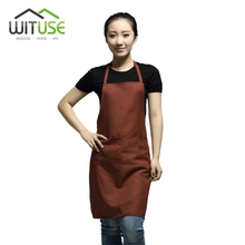 WITUSE Korean Fashion Women Men Apron Kitchen Cooking Chef Cleaning Restaurant Waitress Apron Custom Gift Aprons Wholesale