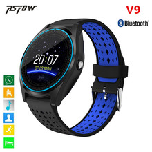 Buy RsFow Bluetooth Smart Watch V9 Camera Smartwatch Pedometer Health Sport Clock Hours Men Women Smartwatch Android&IOS for $21.53 in AliExpress store