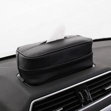1X Car Styling Hanging Tissue Paper Box Mitsubishi ASX Lancer 10 9 Outlander Pajero Suzuki Swift Grand Vitara SX4 Vitara