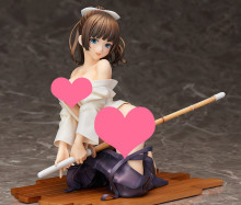 17cm Sexy Native Kendo girl Anime Action Figure PVC New Collection figures toys Collection for Christmas gift(China)