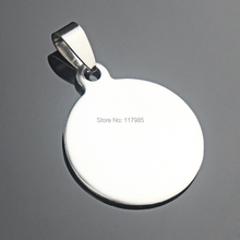 30Pcs 25mm Stainless Pendant Tray Pinch Bail Pendant Blank Cabochon Cameo Epoxy Stick Base Setting DIY Necklace
