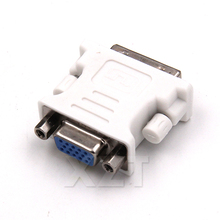 Newest 5 Pin DVI-I Male to Female Video Converter HDMI ATI DVI VGA Adapter Convertor for PC laptop