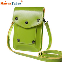 Hot Sale Women Girls Mini Cute Cartoon Purse Rivet Bag Pu Leather Cross Body Shoulder Bag Female Phone Coin Practical Bag Nov22