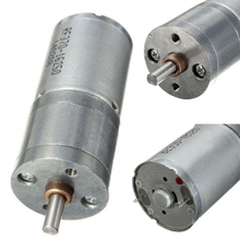 New 12V DC 60RPM 25mm Powerful High Torque Electric Gear Box Motor Speed Reduction For Powerful Hand Drill Tools