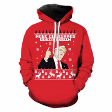 Buy Men/Women Christmas Sweatshirts Digital Print USA President Donald Trump Hoodie Tops Long Sleeves Hooded Sweatshirts Pullovers for $20.15 in AliExpress store