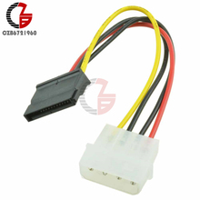Adapter-Cable 15-Pin-Connector Molex Male Female Power-Drive 5pcs IDE 4-Pin SATA High-Quality
