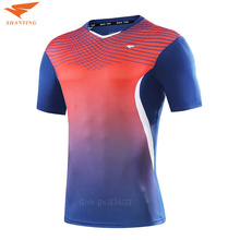 Top Quality Tennis Shirts Men Clothing Sports Badminton T Shirt Breathable Lover Clothes Golf Shirt Men Sportwear 2017 New(China)