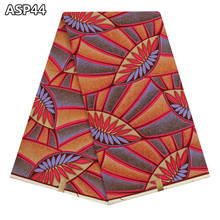 Veritable Ankara fabric wax 2017 high quality African wax fabric real printed Nigerian super wax fabric for women dress ASP44