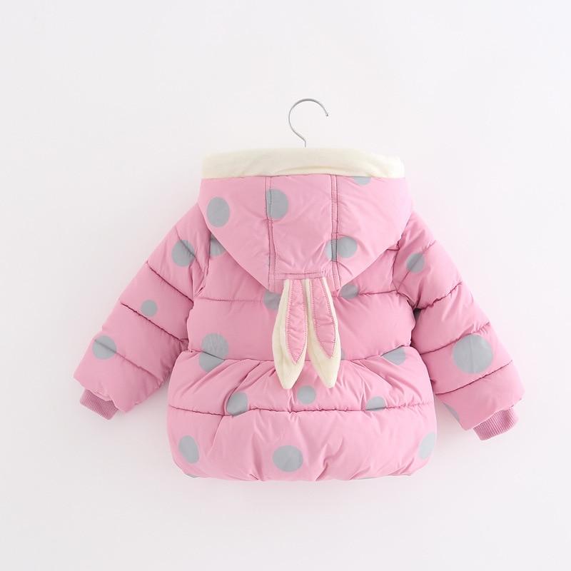 Winter Baby Girls Jackets Kids Warm Cartoon Jacket For Infant Girls Outerwear Coat Children Jacket ClothesÎäåæäà è àêñåññóàðû<br><br>