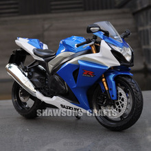 1:12 DIECAST METAL MODEL TOYS SUZUKI GSX R1000 MOTORCYCLE SPORT BIKE REPLICA