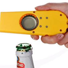 Antique Cute Can Jar Opener Personalize Party Easy Open Gift Beer Opener Funny Flying Bottle Cap Opener A2(China)