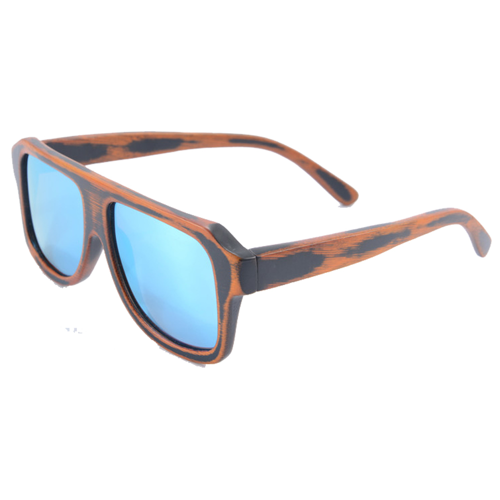 Ice Blue oversized sunglasses bamboo mens sunglasses uv400 CE polarzied sun glasses driving sports eyeglasses z6012<br><br>Aliexpress