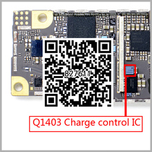 5pcs/lot USB Data Charging Charger Power Control IC Chip For iPhone 6 6+ Plus Q1403 9pin ic