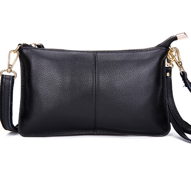 Genuine Leather Women Messenger Bags Evening Clutch Bag Fashion Women Leather Handbags Crossbody Bag Womens Purses and Handbags<br><br>Aliexpress